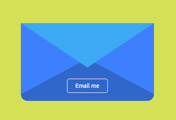 Animated Contact form