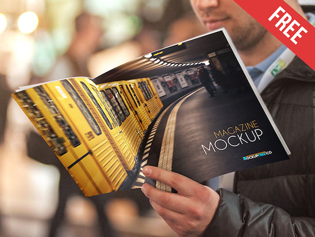 Best 25 Free Magazine Book Cover Psd Mockup Templates New To