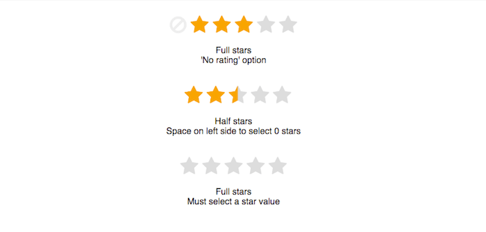 Pure CSS 5-Star Rating