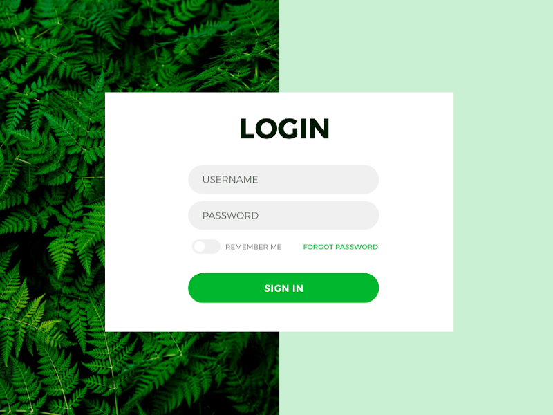 Bootstrap login form Snippet
