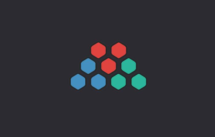 Hexagonal Buttons