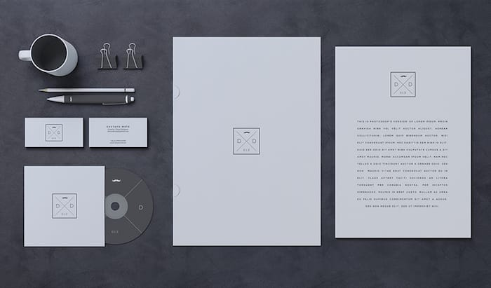 Blank Stationery / Branding Mock-Up