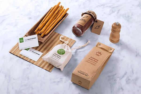 Food Packaging & Branding MockUps