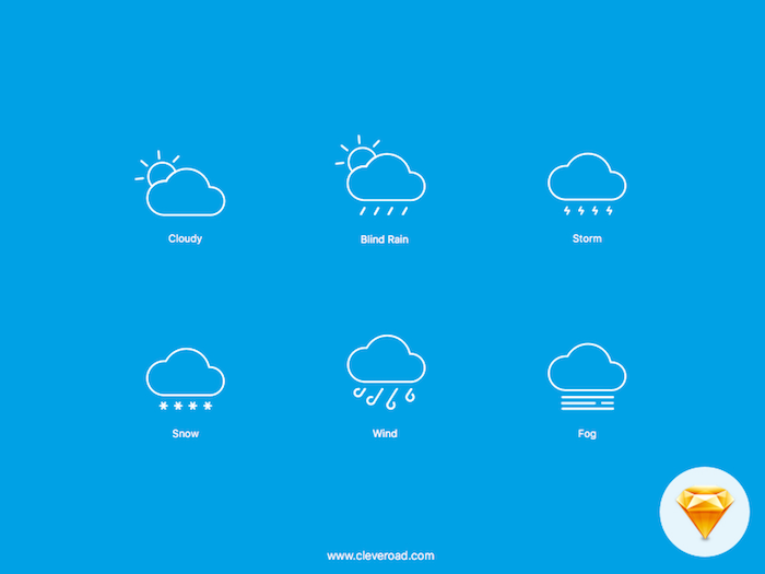 Weather Icons for iOS