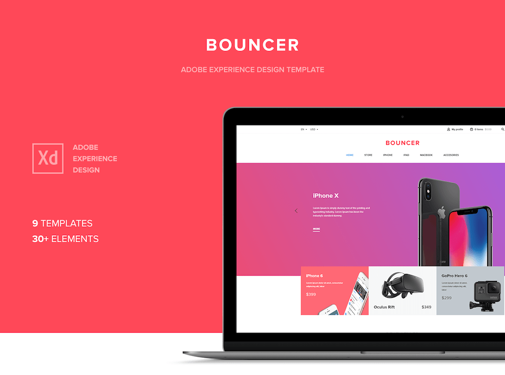 Bouncer Ecommerce UI Kit