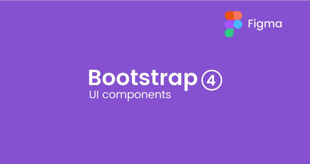 Figma Bootstrap 4 GUI Components